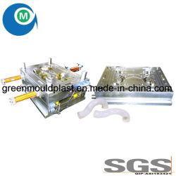 Cavité du moule par injection plastique 4 Raccord de tuyau en PVC coudé 90° moule