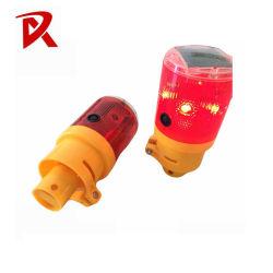 مصابيح التحذير من الشمس / مصابيح الحواجز المتاريس LED الوامضة على الطريق مع مؤشر LED