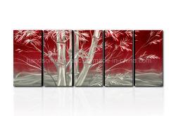 De Kunst van de Muur van het Metaal van het Ontwerp van het bamboe met Fijn Vakmanschap