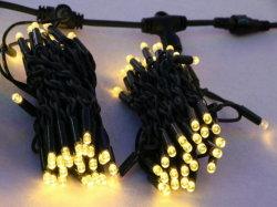 IP65 de Lichten van het Koord van het Gordijn van de op zwaar werk berekende LEIDENE Ijskegel van Kerstmis