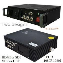 Cofdm émetteur vidéo sans fil pour l'Aln longue portée de transmission vidéo audio HD