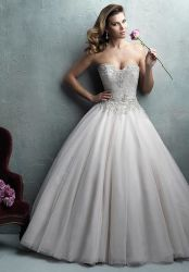 2016 deslumbrante novia de encaje hasta vestido de novia (Dream-100038)