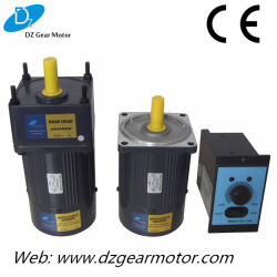 25W Induction Geared Motor con Controller