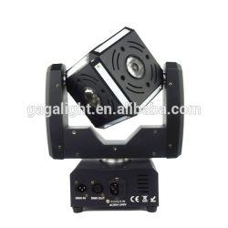 Alta Powe 6X12W RGBW 4 em 1 LED Cube bola em movimento o farol dianteiro