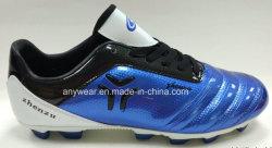 Os homens de couro calçado de couro Sports Soccer Footall sapatas (559S)