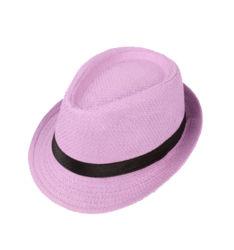 Custom Verano Playa sombrero Fedora/Mujeres señoras papel sombrero de paja