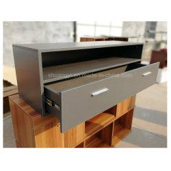 木LCD TVの陳列台デザイン家具映像