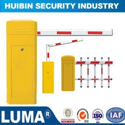 Barrera de estacionamiento automático de brazo, Carretera de barrera, el equipo de seguridad de tráfico con LED de encendido