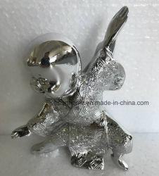 Alta calidad de conjunto de cuatro hijos de las artes marciales artesanía figuritas de resina