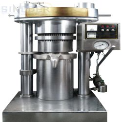 Овощные Hydraullic маслоотжимной пресс, автоматической печати, гидравлическое масло тыквы масло семян нажмите кнопку