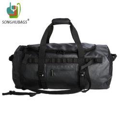 Le sport camping Sac à dos étanche noir Dry Duffle Bag TY-0544