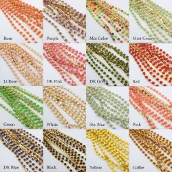 Rhinestones di cristallo densi di multi colore della tazza dell'argento del Rhinestone Ss6