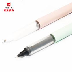 Heiße verkaufende direkte flüssige Edelstahl-Spitze der Kugel-Feder-0.5mm, Schwarzes, Blau, Rot und andere Mehrfarbentinten sind erhältlich