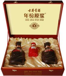 China Top 5 Gujinggong Baijiu Licor 5 anos Dom Pack