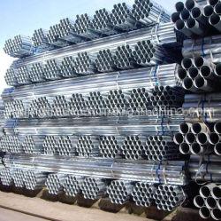 Из мягкой углеродистой ВПВ оцинкованный круглый стальной трубопровод
