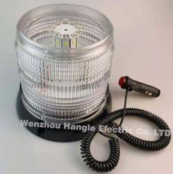 يومض مصباح حركة المرور البيضاء LTd6166 80LED بجهد 12 فولت في حالات الطوارئ ضوء مصباح التحذير من السيارات الأمنية