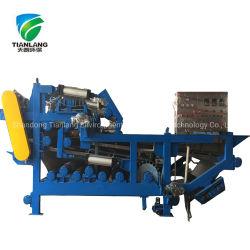 폐수 처리 기계장치가 가죽을%s 진창 하수 오물 별거 처리 장비 슬러리 탈수 단위에 의하여 설치한다