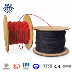 Electric listado UL/TUV/RoHS H01Z2Z2K resistentes a UV 4mm 6mm PV/PV1F, cable Cable DC Solar 10 AWG/12AWG