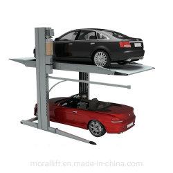 Elevatore dell'automobile di parcheggio del garage dei 2 livelli