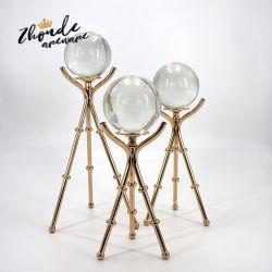 Bola de cristal de vidrio transparente de la decoración del hogar regalos accesorios de fotografía nuevo cristal Artificial bolas decorativas Foto Props regalos