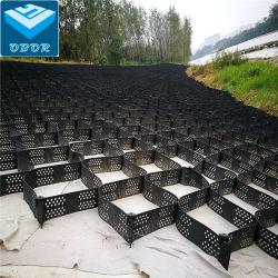 De textura suave/HDPE Geocell perforada con certificado CE cuadrículas de grava pavimentadora fabricante directamente el precio de suministro de HDPE Geocell Geoweb