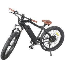 Neuer fetter Gebirgselektrisches Fahrrad des Gummireifen-2019 mit Motor 48V 500W