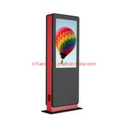 E-Fluence напольные IP65 водонепроницаемый высокая яркость ЖК-дисплей HD Наружной Рекламы Media Monitor Android 3G/4G Digital Signage Ad плеер