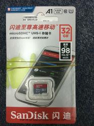Hochgeschwindigkeits-Karten-Karten-Blitz-realer Kapazitäts-Stock der Ableiter-Karten-Class10 16GB 32GB 64GB 128GB 80MB/S ursprünglicher TF für Kamera