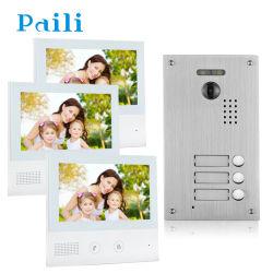 3 Apartamento/Piso Video Portero intercomunicador Sistema de puerta de entrada