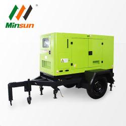 Мобильные звукоизолирующие смонтированные на генератор с дизельных генераторных установках