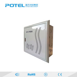 Intérieur/Extérieur 10U de Case de câblage à fibre optique intégré