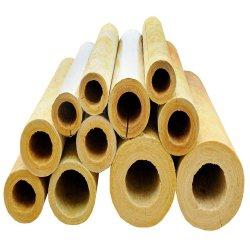 Tubo de lana de roca para tubo de aislamiento térmico aislamiento de lana de roca