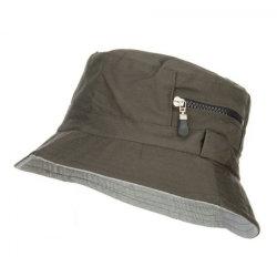 Bolso de zip balde de algodão HAT