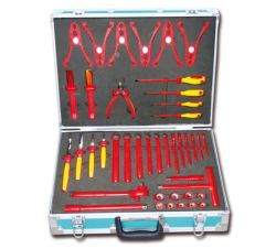 مجموعة الأدوات الكهربائية اليدوية 46PCS Insulated Tools Kit