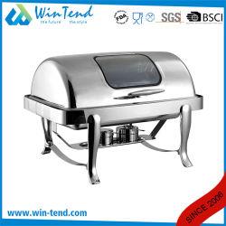 Affichage de l'équipement alimentaire sous forme de buffet chaud plat avec frottement Afficher la fenêtre