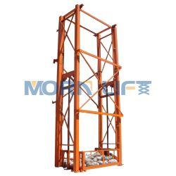 مستودع شاقوليّ هيدروليّة بضائع مصعد كهربائيّة شحن مصعد من
