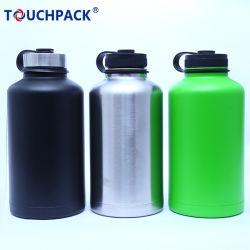 64oz/2L/litro Hydro Double-Wall Stainless-Steel Deporte vacío matraz Taza de la botella de cerveza
