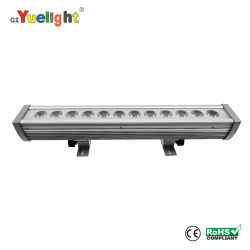 LEIDENE van de Kwaliteit 12PCS van Hight van de Prijs van de fabriek van RGB 3W IP65 3in1 het Licht Wasmachine van de Muur Openlucht