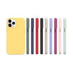 علبة سيليكون سائلة أصلية من مصنع 2020 مع شعار أزياء عبوات فاخرة للهاتف I Phone 11 XR XS 7 8 12 علبة هاتف Pro Max