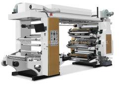 Flexo Print Color Color de dos cuatro seis colores de la película la máquina de impresión
