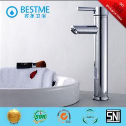 Kraan van uitstekende kwaliteit van het Water van de Hefboom van het Chroom de Enige (BM-A10026)
