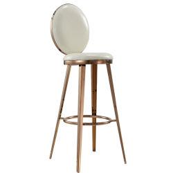 Chaises Chaises en acier inoxydable de luxe High Bar chaises