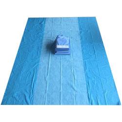 Uso hospitalario/estériles desechables no estériles cortinas quirúrgica nuevamente tapa de la mesa