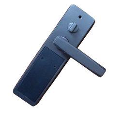 Cerradura de puerta inteligente de alta seguridad de huellas dactilares reconocimiento de la llave ID de cara