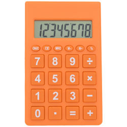 Cancelleria calcolatrice elettronica della casella dello strumento del calcolatore portatile dell'allievo