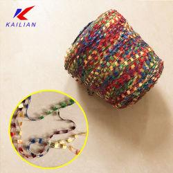 Fancy fils spéciaux, Section fils teints, 100 Pompon de fils de polyester