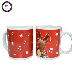 Tazza di ceramica di canzone di musica del Babbo Natale