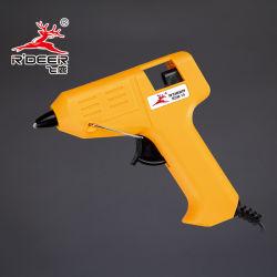 Pistola de pegamento termofusible con control digital de temperatura
