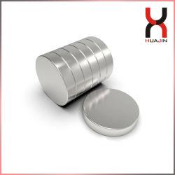 Magneet de van uitstekende kwaliteit van de Schijf NdFeB om de Permanente Magnetische Ronde Vrije Steekproef van de Magneet