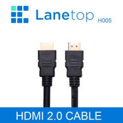 Lanetop cabo HDMI para HDMI 4K HDMI Macho para Macho do Conector do adaptador para HDTV Gopro Hero Tablet Micro Cabo HDMI